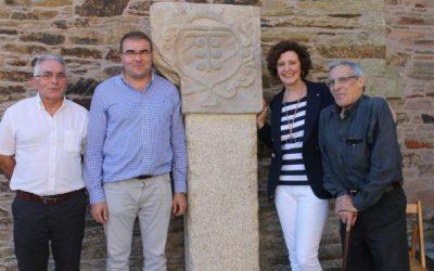 Castro de Rei apuesta por su historia y recupera el escudo de la antigua torre