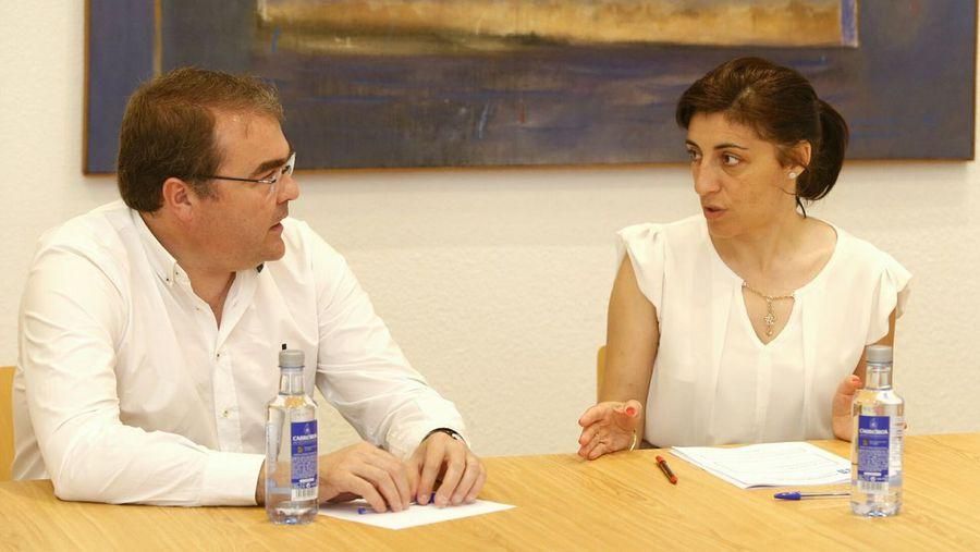 El Concello de Castro de Rei y la Xunta analizan el estado de dos parcelarias