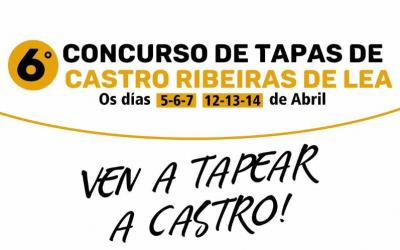 VI Concurso de tapas en Castro Ribeiras de Lea