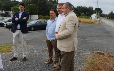 Xunta y Concello mejorarán 1,2 kilómetros de aceras en Castro Ribeiras de Lea