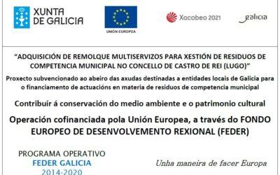 ADQUISICIÓN DE REMOLQUE MULTISERVIZOS PARA XESTIÓN DE RESIDUOS DE COMPETENCIA MUNICIPAL NO CONCELLO DE CASTRO DE REI